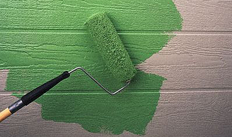 Greenwash Painting