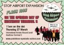 Stop Airport Expansion Protest Pointless