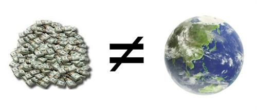 Money Not Earth