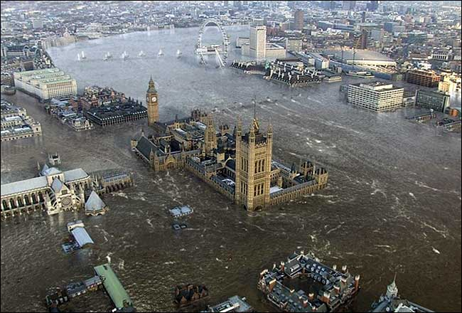 "Thames Flood - Courtesy of ""Flood"" The Movie"