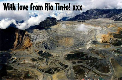 Rio Tinto Destruction