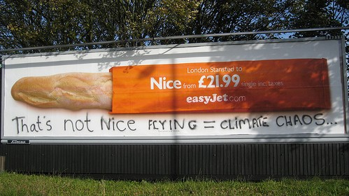 Billboard Subvertising EasyJet
