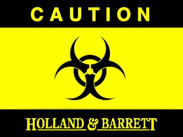 Holland and Barrett Biohazard
