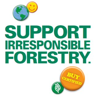 Unsustainable Forestry Initiative